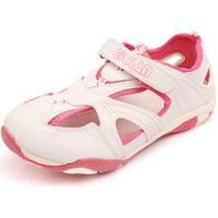 TSW8028 Wholesale school kids summer shoes cute closed toe girls beach sandals