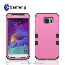 Full-body Protective Case for Galaxy S6 Silicone PC Case for Samsung Galaxy S6