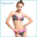 La parte superior bandeau bikini de las mujeres, eslinga de trajes de baño para damas