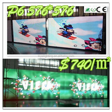 Die Casting LED P6 P5 P4 P3 Stage Background Video Show led display screen