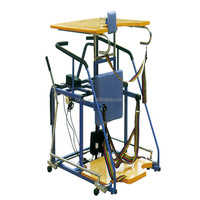 Electric lifting standing frame