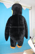 inflatable adult penguin animal halloween party costume mascot