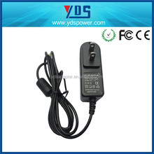 2015 Hot model 12v 1a 2a mini cube travel mobile phone ac wall charger