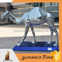 camel animal sculpture polished sculpture