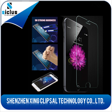 Newest! Factory price mobile phone 0.26/0.33/0.4mm Tempered Glass Screen protector/film for iphone 6