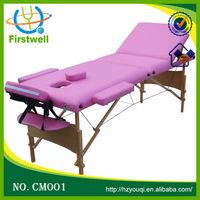 antique wooden massage table folding massage table