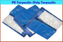blue/white pe tarpaulin