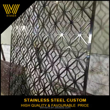 Polished mirror stainless steel 304 custom room divider,folding,screen