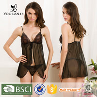 XL,L,M,S Fitness Hot Lady Satin Low Cost Chinese Style sexy night inner wear