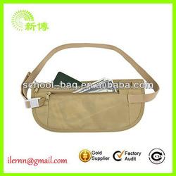China manufacturer fashion sport waist money bag