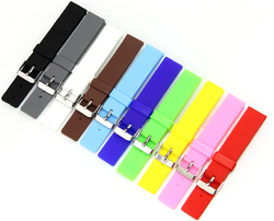 12,14,16,18,20,22,24mm - silicone watch straps