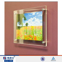 Trade assurance supplier!plastic photo picture frame,wall mounted acrylic photo frame online cheap acrylic frames, acrylic frame