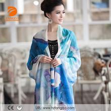 fashion lady scarf long pashmina shawl wholesale cashmere poncho