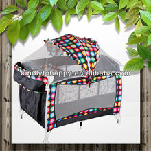 2014 hot sales canopy inflatable baby play yard