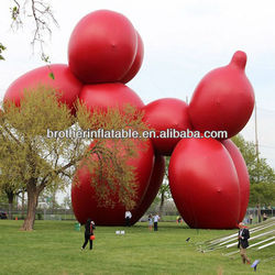 80 Foot Inflatable Balloon Dog Model