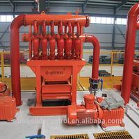 oilfield pumping unit solids control desilter machine in oil field oilfield drill bit
