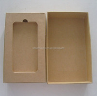Paper Packaging Phone Case Packaging Box with factory price.