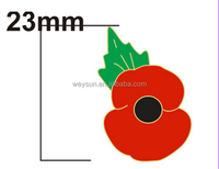 Make any design metal badge 25mm poppy pin badge