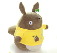 OEM High-quality plush animal with shirt Totoro stuffed toy