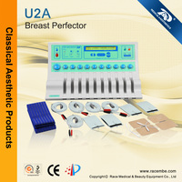Painless Electric Muscle Stimulation Breast Enhancement Beauty Machine Breast Massage U2A (CE,ISO13485 since1994)