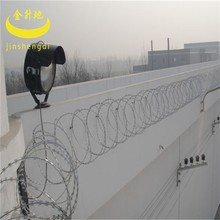 factory provided professional coiled high security razor barbed wire cbt 65