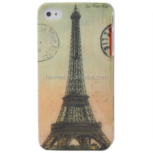 Eiffel Tower Pattern Plastic Case for iPhone 4 & for iPhone 4S