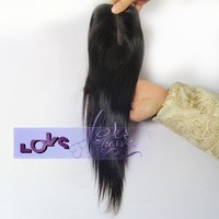 12 inch Middle Part silk base closure malaysian Virgin Hair made Cheap Top Closure in Size 3.5x3 for Wholesale