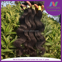 Remy Human Hair Three Tones 1B/4/27 Ombre Color Brazilian human hair weft body wave