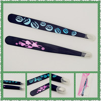 Nice packing professional 2015 best design stainless steel eyebrow tweezers for wholesales