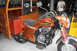 Motorized cargo motorcycle