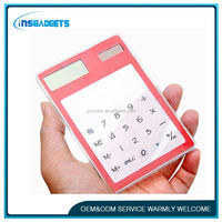 function tables calculator , H0T015 solar promotional calculators , solar silicon calculator