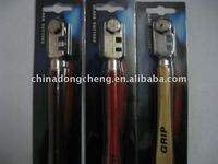 wood handle six wheels glass cutter