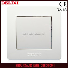 Made in China good price DELIXI W-080K2 European 10A manufacturing machine push button switch