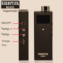 Herbstick Deluxe hot digital dry flower vaporizer pen