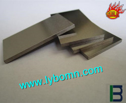99.95 high purity Tungsten sheet/plate/strip for electromagnetic/radiation shield with professional manufacturer in China