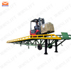 China hydraulic mobile cargo dock levelers for warehouse