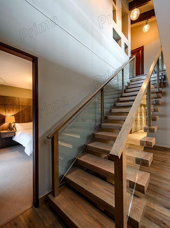 Corrimano in vetro scale scala gradini in legno legno corrimano per scale interne scale id - Corrimano in vetro per scale ...
