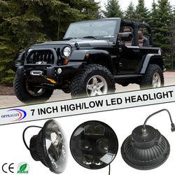 7' led headlight hi/low bean headlight motorcycle harley for harley motorcycle led headlight