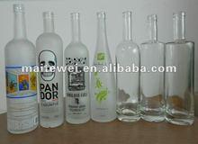 Custom made vodka bottles