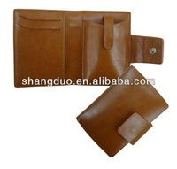 Leather mobile phone case cover with card holder