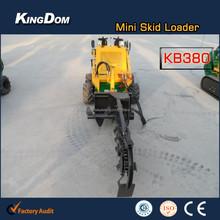 China Supplier Skid Steer Front End Loader With Fork