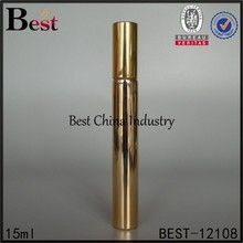 15ml shining gold tube bottle, painting color, logo printing, 2 free samples