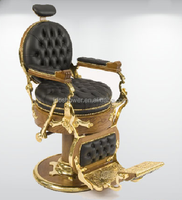 unique design French style hair dressing chair with hydraulic pump / old style barber chair