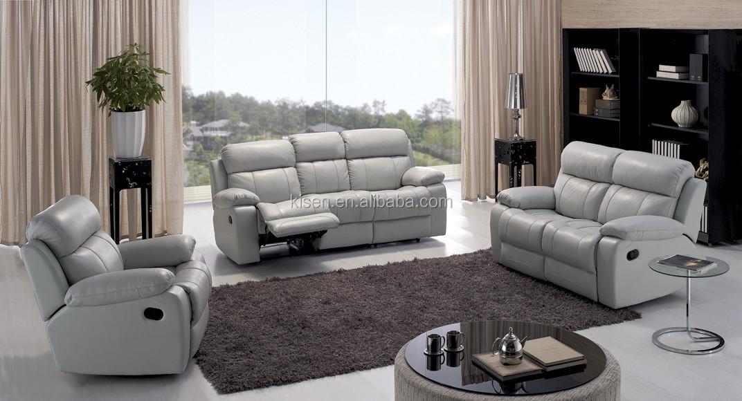 Canapé en cuir sommeil. lits. kq903 meubles de salon