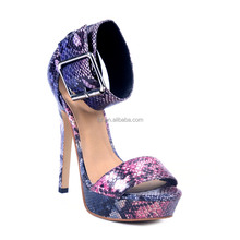 New Office Ladies High heels Elegant Women Pumps Fashion Thin heel Round Toe Black Platform sandals