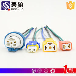 Meishuo snowplow heavy truck cable looms with plug expandable