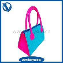 2015 Latsest Silicone ladies handbags wholesale/ handbags online/ handbags of christmas festival
