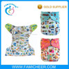 One Size Fit All Baby Bamboo Washable Reusable Diapers
