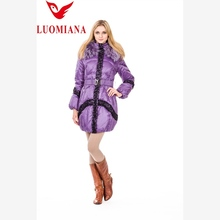 china 2014 high quality simple style women' s duck/goose down vest for outer wear