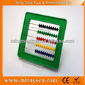 mini abacus matemáticas conjunto educativos de plastico abacus